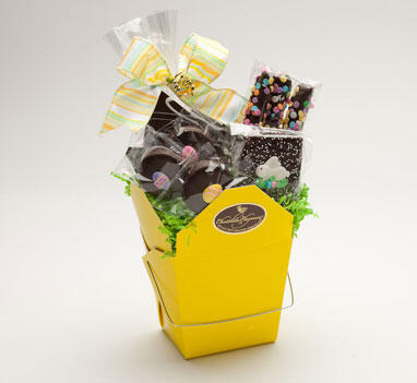 Chocolate Takeout Box - Easter