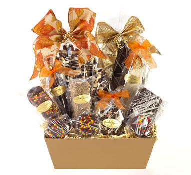 Fall Chocolate Sampler Basket