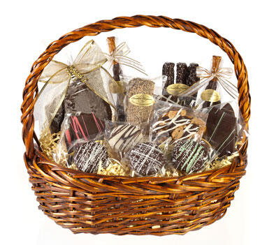 "Basket ""Sometimes...Chocolate Is A Need"""
