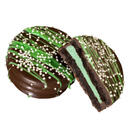 Cookie / Mint Filled Oreo Cookie, Chocolate Dipped