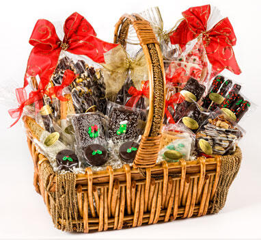 "Christmas/Basket ""Chocolate Decadence"""