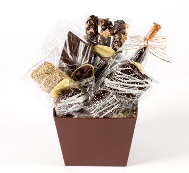 "Basket ""Chocolate Addiction"""