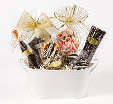 "Basket ""Chocolate Lover's Delight"""