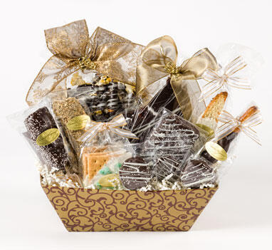 Chocolate Sampler Basket