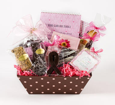 Breast Cancer Patient Gift Basket