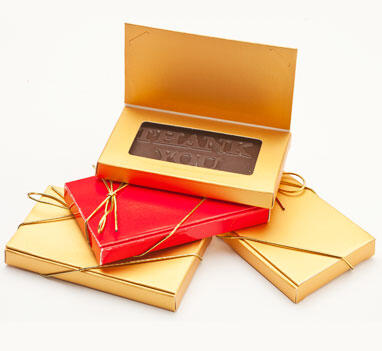 Chocolate Card - Boxed & Bowed